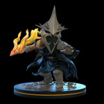 Q-Fig Diorama: Witch King