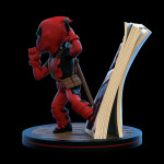 Q-Fig Diorama: Deadpool 4D