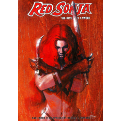 Red Sonja 01: She-Devil with a Sword (Εναλλακτικό έξώφυλλο)