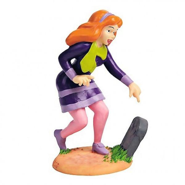 Resin Mini Statue Scooby-Doo: Daphne Blake with gravestone