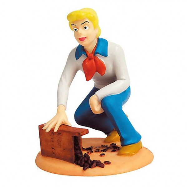 Resin Mini Statue Scooby-Doo: Fred Jones with Snack Box