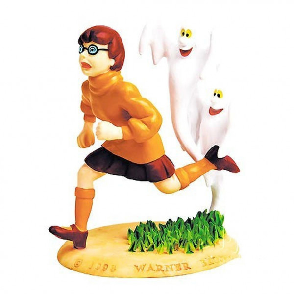 Resin Mini Statue: Velma with ghosts