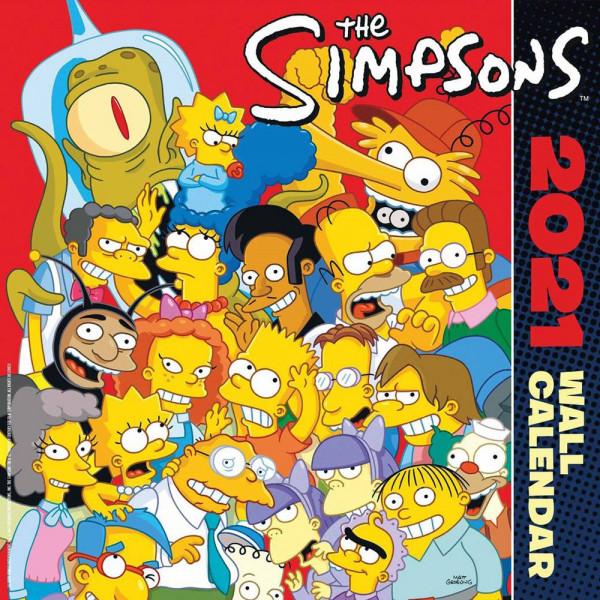 Simpsons Calendar 2021 (English Version)