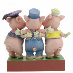 Three Little Pigs Squealing Siblings: Silly Symphony