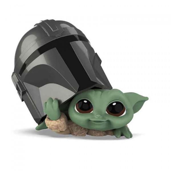 Star Wars Mandalorian Bounty Collection: The Child Helmet Peeking