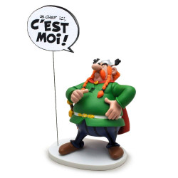 Statue Asterix (Bubbles Collection): Majestix