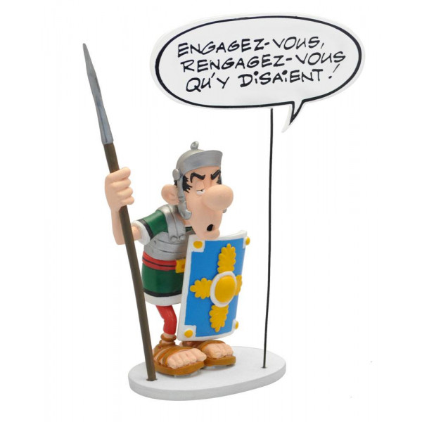 Statue Asterix (Bubbles Collection): The Roman Legionary