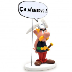 "Statue Asterix: Asterix ""It's getting on my nerves!"""
