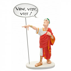 "Statue Asterix: Julius Caesar ""Veni, Vidi, Vici"""