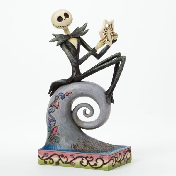 """Statue from Nightmare before Christmas: Jack Skellington """"What's This?"""""""