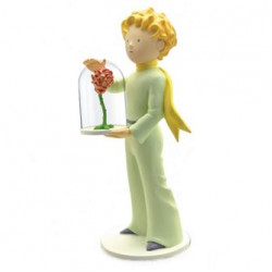 Statue: The Little Prince with the rose