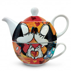 Teapot Mickey and Miney