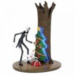 The Nightmare before Christmas Figurine: Jack Discovers Christmas Town