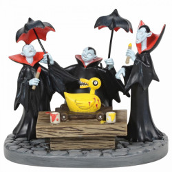 The Nightmare before Christmas Figurine: Vampire Brothers Prepare the Duck