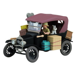 Tintin Cars: Ford T 1910 - In The Congo