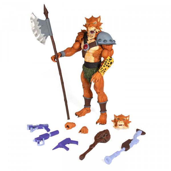 Ultimates Action Figure Thundercats: Jackalman (Wave 1)