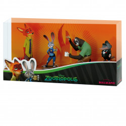 Zootopia 4-mini figure-set