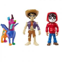 3-figure-set Coco: Skullectables