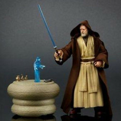 Action Figure: Star Wars Episode IV Black Series - Obi-Wan Kenobi 2016 Exclusive