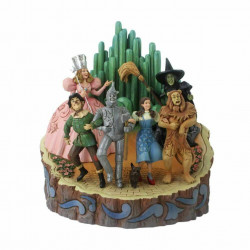 "Adventure to the Emerald City ""Wizard of Oz Carved By Heart"""