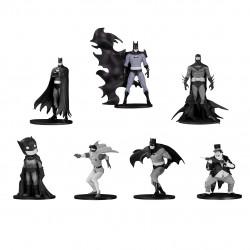 Batman Black & White Minifigure 7-Pack Box Set #4