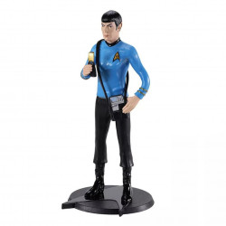 Bendable Figure Star Trek: Spock with science pouch and communicator