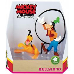 Σετ 2 φιγούρων Mickey Mouse & Friends - Γκούφι και Πλούτο