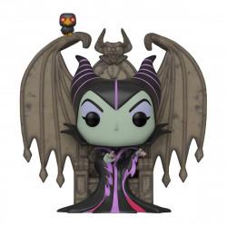 Disney POP! Deluxe Vinyl Bobble-Head - Maleficent on Throne