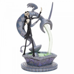 "Disney Showcase: Soulful Soliloquy ""Jack Skellington on Fountain"""
