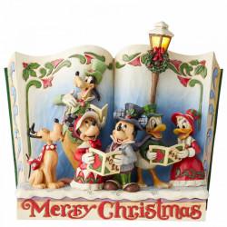 """Βιβλιοστάτης Disney Traditions """"Χριστουγεννιάτικα Κάλαντα"""" Storybook"""