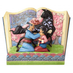 """Βιβλιοστάτης Disney Traditions """"Mulan 20th Anniversary"""" Storybook"""