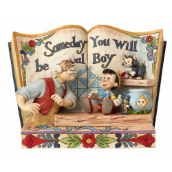 "Βιβλιοστάτης Disney Traditions ""Someday You Will Be A Real Boy"" Storybook"