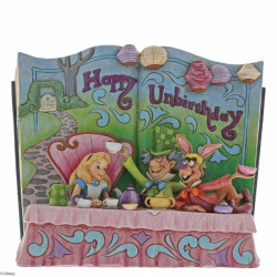 "Disney Traditions: Alice in Wonderland Tea Party ""Happy Unbirthday"" Storybook"