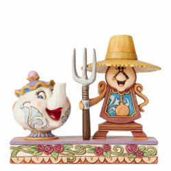 Disney Traditions: Workin Round the Clock (Mrs Potts & Cogsworth)