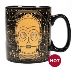 """Heat Change Mug: Star Wars """"C-3PO"""""""