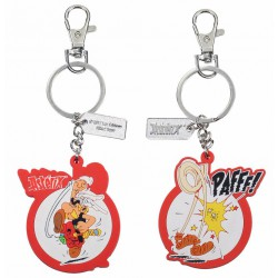 Keychain:  Asterix Rubber 7 cm
