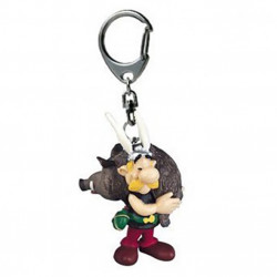 Keychain: Asterix with boar