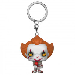 Keychain: It 2 Pocket POP! Vinyl Pennywise with Balloon