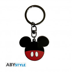 Keychain: Mickey Mouse's face shape in trousers colour