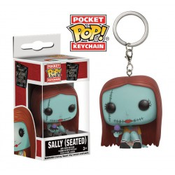 Μπρελόκ: Nightmare Before Christmas Pocket POP! Vinyl Seated Sally, 4 cm
