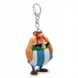 Keychain: Obelix hands in the pockets
