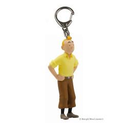 Keychain: Tintin hands on hips