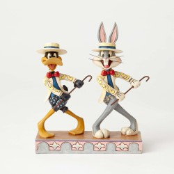 Looney Tunes by Jim Shore: Μπαγκς Μπάνυ και Ντάφυ Ντακ