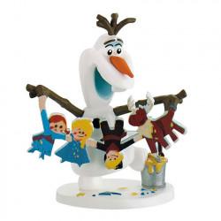 Mini Figure: Olaf With Gingerbread People