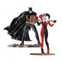 Μινι φιγούρα: Schleich's DC 2-Pack Batman vs. Harley Quinn
