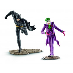 Μινι φιγούρα: Schleich's DC 2-Pack Batman vs. Joker