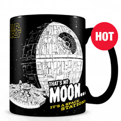 "Mug - Heat Change - Star Wars ""That's No Moon"""