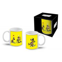 Mug Lucky Luke - Joe Dalton & Rantanplan