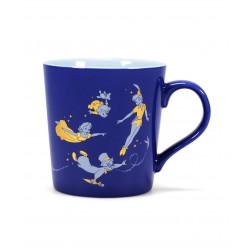 "Mug Peter Pan ""Think of the happiest things"""