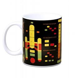 Mug Star Trek - Starship Graph